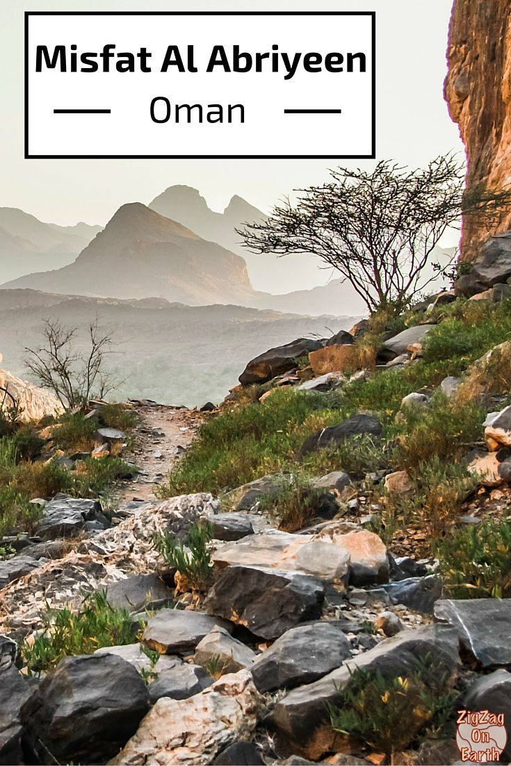 Misfat Al Abriyeen is one of the most beautiful villages in Oman - it is a peaceful environnement where you can hike in the wadi and in the plantations. Plus you can stay at the traditional Misfah Old House - click for more photos and planning tips
