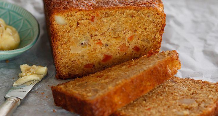 Papaya-and-Banana-Bread