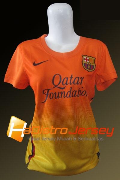Toko Jersey Bola HADISTROJERSEY menyediakan READY STOK Jersey Grade Ori Jersey Ladies Barcelona Away 2012-2013 $15 http://goo.gl/Vlcex