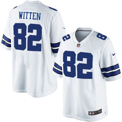 Men's discount Nike #82 Jason Witten Limited White NFL Dallas Cowboys Jersey Cheap but high quality