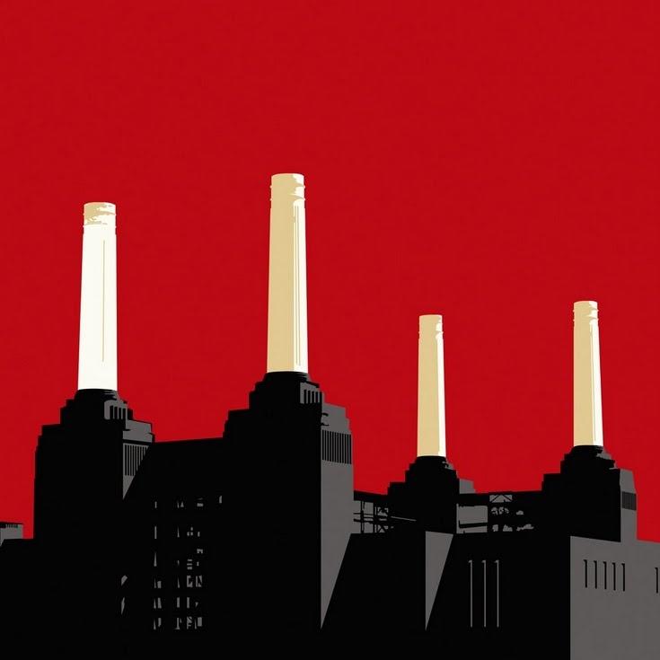 Battersea Power Station Art ScreenPrint by Jayson Lilley battersea print art painting london