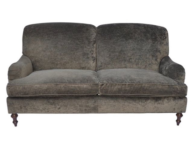 George Smith Style Love Seat by O'Henry House Ltd   The Local Vault