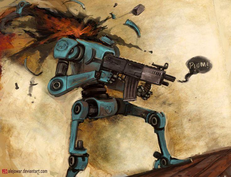 Just a headless robot :v