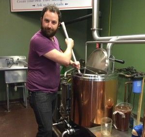 Brew your own beer for about $300 at Saugatuck Brewery in MI and get at least 72 bottles to take home!