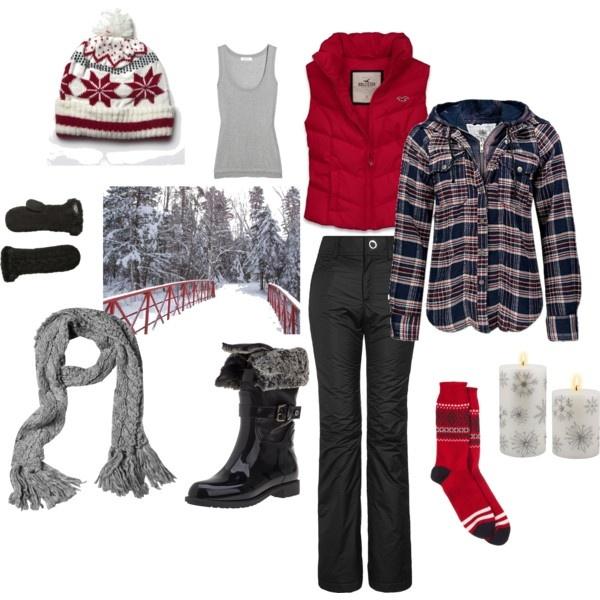 I love winter clothes!