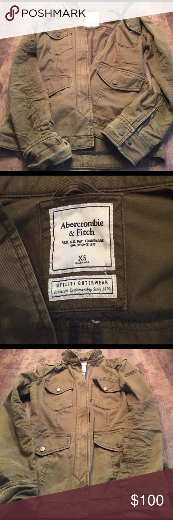 Rare Abercrombie and Fitch Jacket New without tags super hip! Abercrombie & Fitch Jackets & Coats Utility Jackets