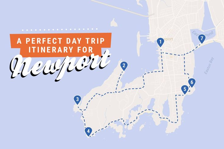 Newport Rhode Island  Day Trip Itinerary