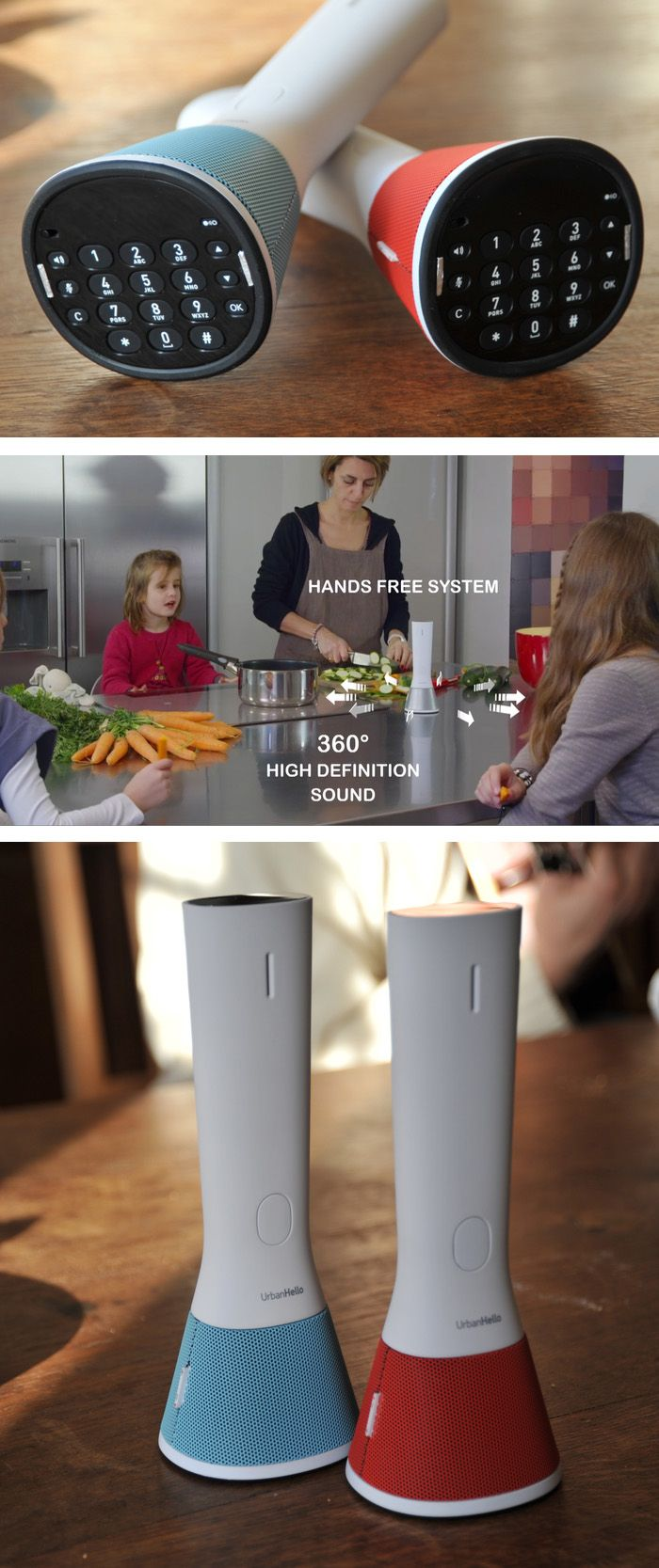 """If you still have a landline, you might want to check out """"The Home Phone."""" Its sleek and hands-free design makes it stand out."""