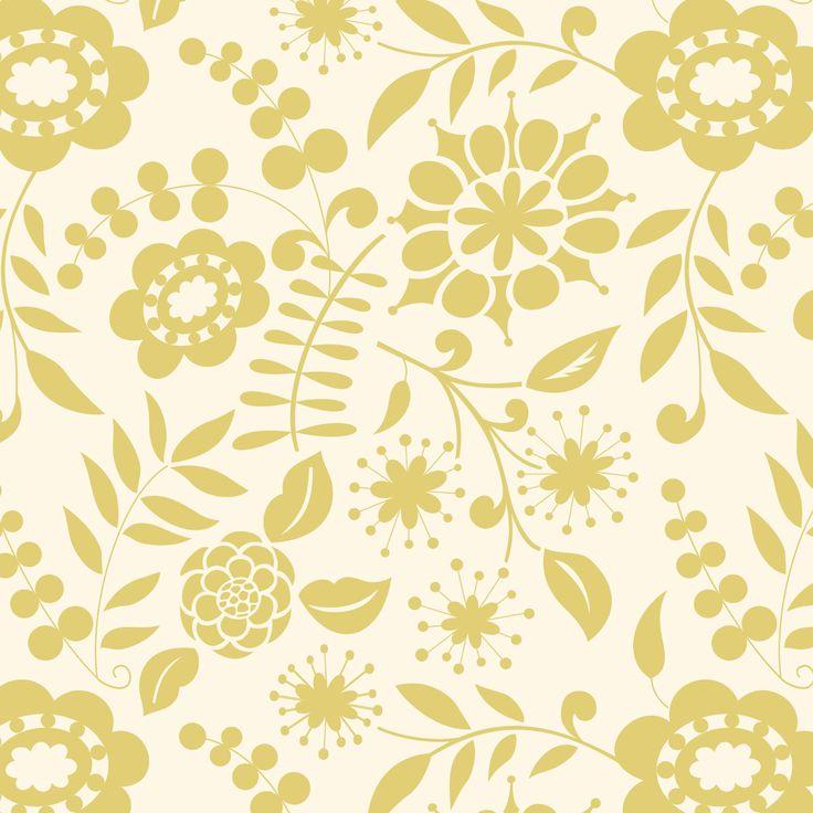 Kumari Garden Collection   Kamal In Moss By Dena™ For Free Spirit Fabrics