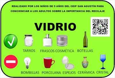 uso educativo de los #códigos QR en#educación #infantil para el tratamiento del reciclaje #AR #RA #realidadaumentada @catinagui #lospequesdemicole