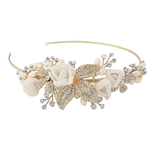 17 meilleures id es propos de serre tete mariage sur pinterest bandeau de halo bandeau - Headband mariage boheme ...
