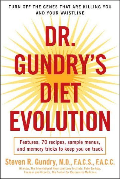 Dr. Gundry's Diet Evolution Ebook Download #ebook #pdf #download Author: Dr. Steven R. Gundry   ISBN…