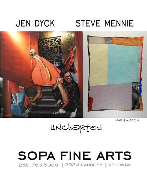 Uncharted - Steve Mennie + Jen Dyck