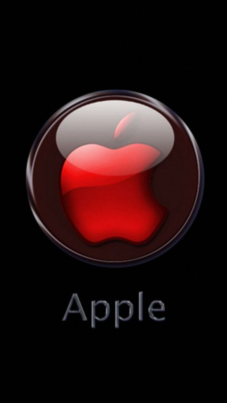 high resolution apple logo for iphone