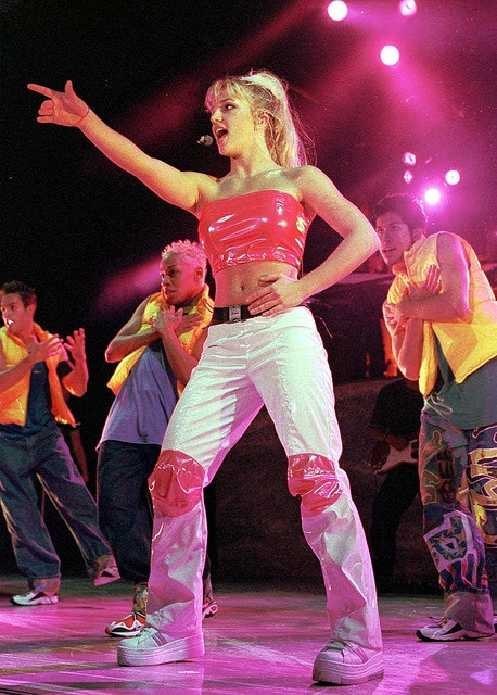 Britney Spears on the ...Baby One More Time Tour