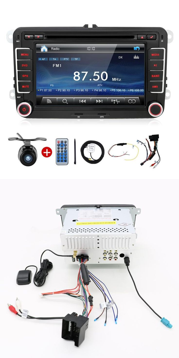 [Visit to Buy] Auto USB Car PC DVD GPS 2 Din Stereo Player For VW Golf 5 6 Polo Bora Jetta MK4 B6 Passat Tiguan Skoda Octavia Fabia BT FM RDS #Advertisement