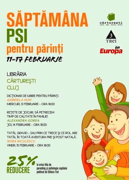 Saptamana PSI pentru Parinti – Rezolvarea conflictelor in relatia parinte-copil « Blogul Ivanovelor