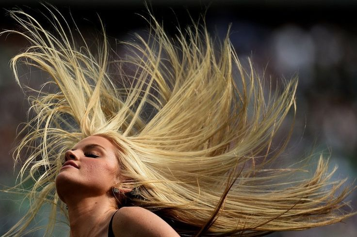 A Philadelphia Eagles cheerleader performs during a game on Sept. 15.