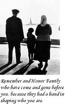 """Remember and honor family who have come and gone before you, because they had a hand in shaping who you are."" Genealogy Quote"
