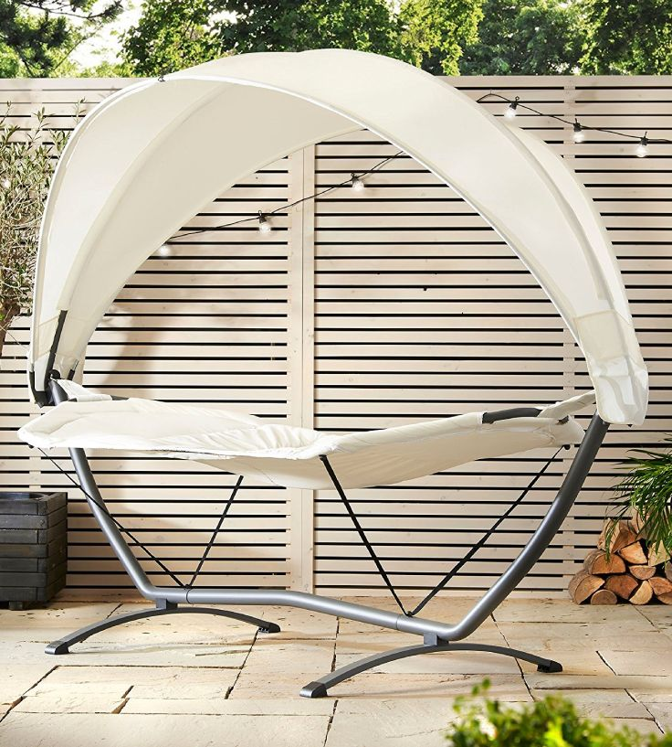 Need to chill out? You need this Hammock with Canopy in your life - oh and a bottle of something nice :D
