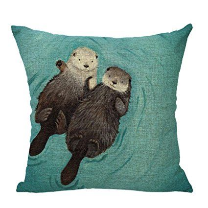 Animal Pillow Relaxation : 17 best ideas about Otters Holding Hands on Pinterest Otters, Sea otter and Hold hands