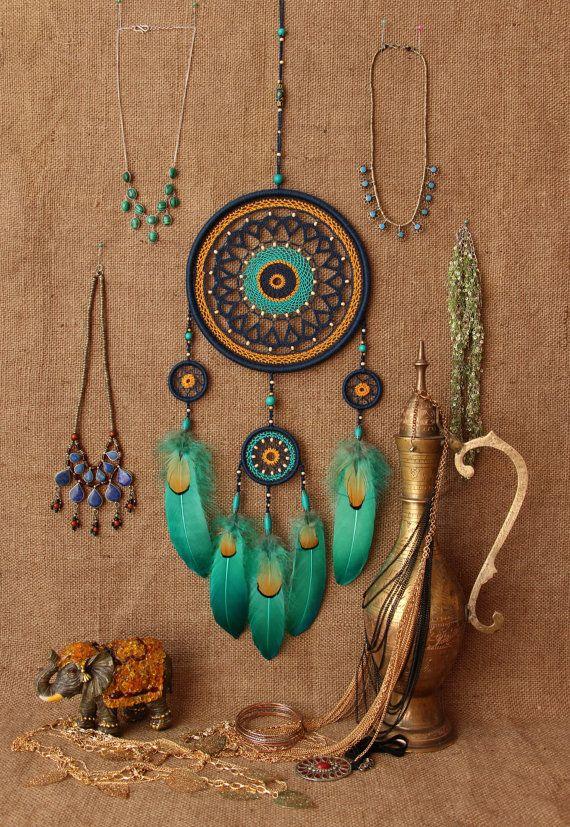 Boho Dreamcatcher, boho love, boho dream, gypsy, cotton dreamcatcher,wall decor,Dream Catcher Birthday Gift