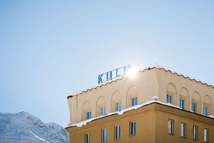 Kulm Hotel St. Moritz in the Swiss Alps