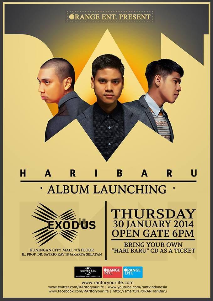 RAN Album Launching on 30 January 2014 at Exodus