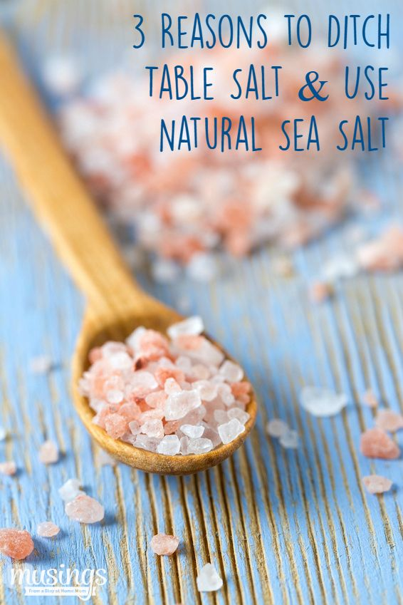 3 Reasons to Ditch Table Salt & Use Natural Sea Salt Instead