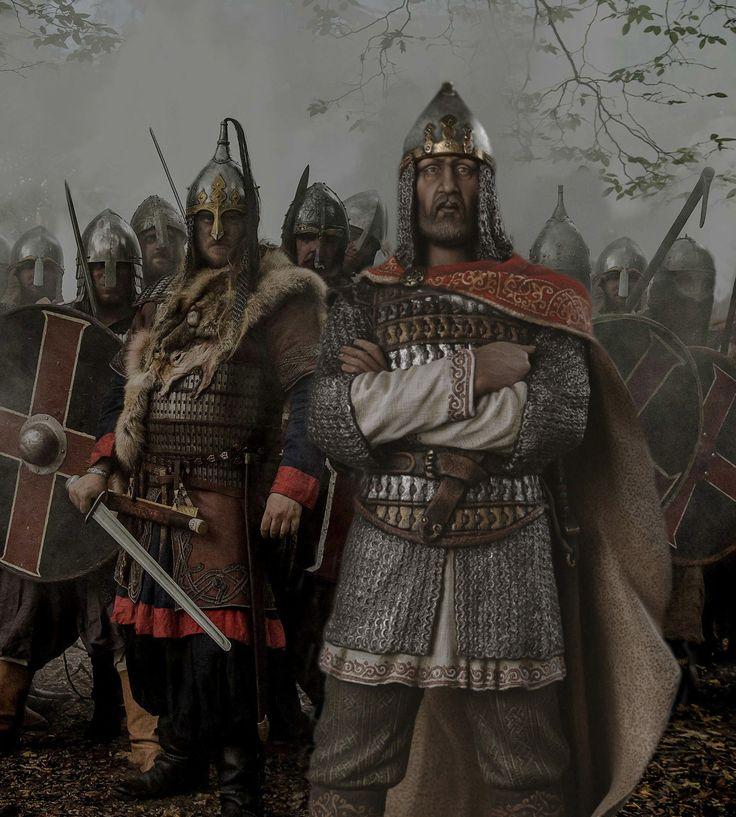 Князь Игорь, Великий князь 912 - 945. М1:14 (120 мм).