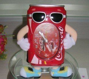 Cool Coca-cola Alarm Clock Promotional Gifts It is popular for home decor.