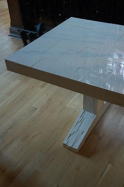 Piet Hein Eek white table
