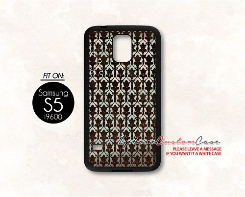 sherlock wallpaper for Samsung S5 Black case