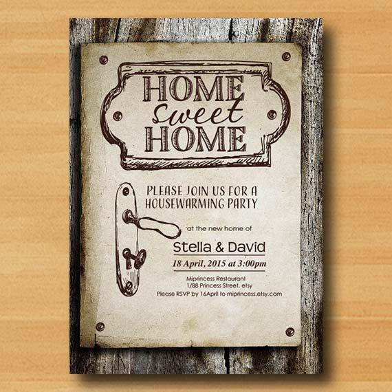 home design card. housewarming invitation  New house home sweet Invitation Card WOOD design Best 25 Housewarming cards ideas on Pinterest