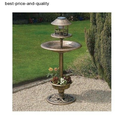 Bird Feeding Station Squirrel Feeder Bath Garden Tray