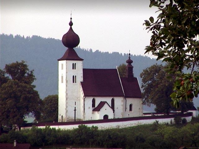 Kostolik v Zehre