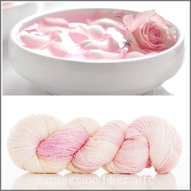 Expression Fiber Arts - ROSE WATER YAK SILK LACE YARN, $39.00 (http://www.expressionfiberarts.com/products/rose-water-yak-silk-lace-yarn.html)