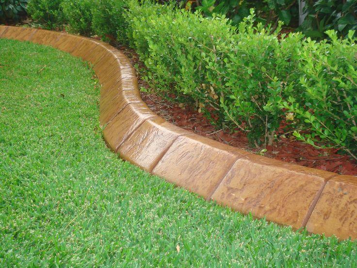 Garden Ideas Borders best 10+ concrete garden edging ideas on pinterest | concrete