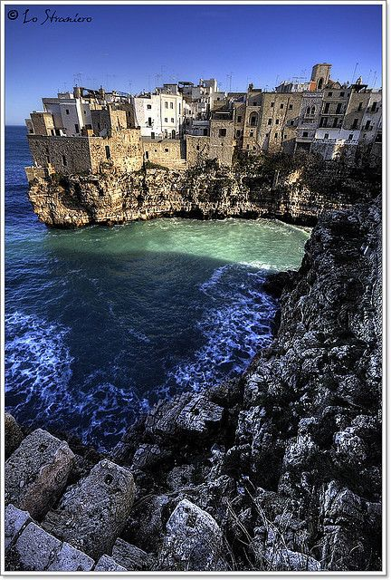 Polignano a Mare, Puglia , italy -- I absolutely LOVED this city! Gorgeous! Wonderful locals and great food