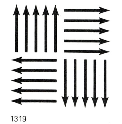 Trade Marks and Symbols Volume 2: Symbolical Designs by Yasaburo Kuwayama, Van Nostrand Reinhold Co., 1973 // via stopping off place