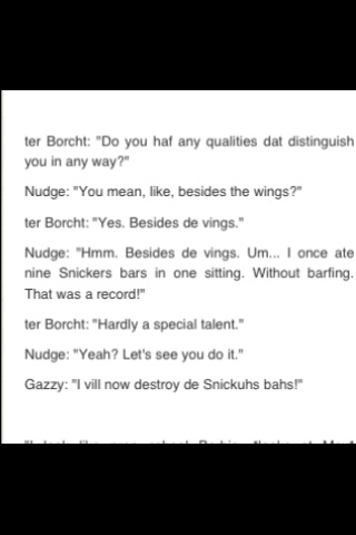 Maximum Ride quotes... Love gazzy and nudge... Favorites of the flock... Love them all though!!!:)