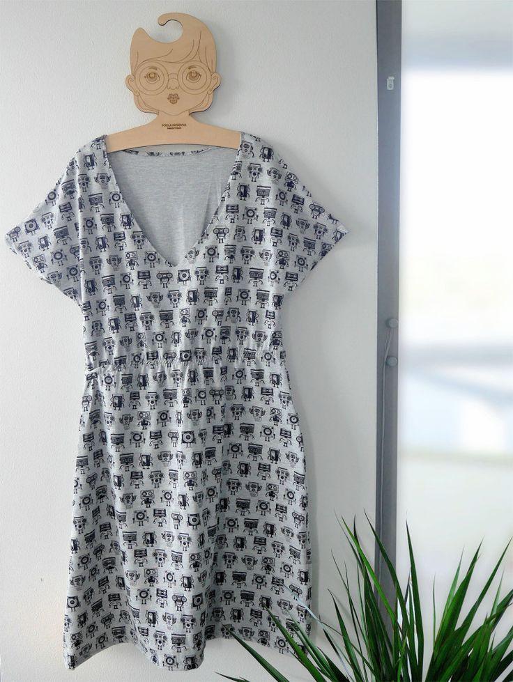 DIY helppo trikoomekko - easy dress tutorial