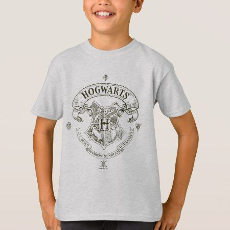 Harry Potter | Hogwarts Banner Crest T-Shirt - tap, personalize, buy right now!