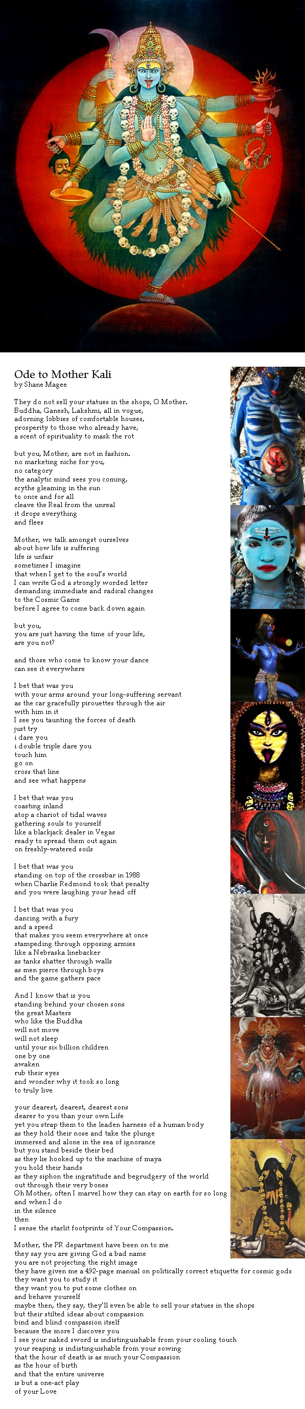 Ode to Mother Kali