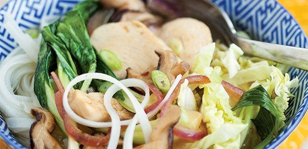 Noodle Chicken Bowl