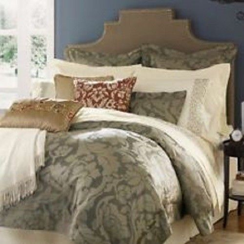 sferra leily boudoir sham iron 560 tc cotton sateen jacquard italy new sferra