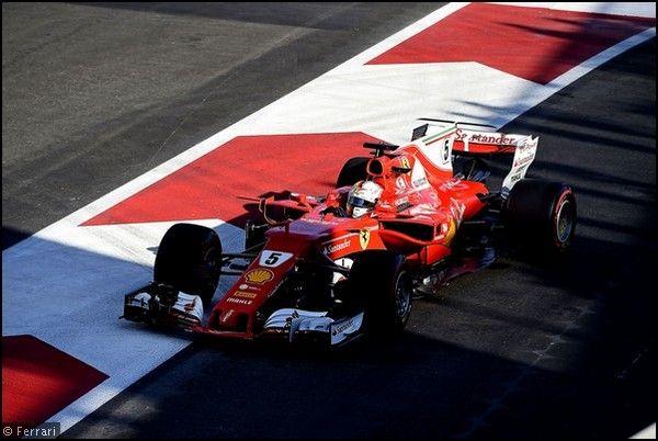 Vettel graziato (giustamente) dalla Fia dopo pasticcio di Baku: il caso è chiuso