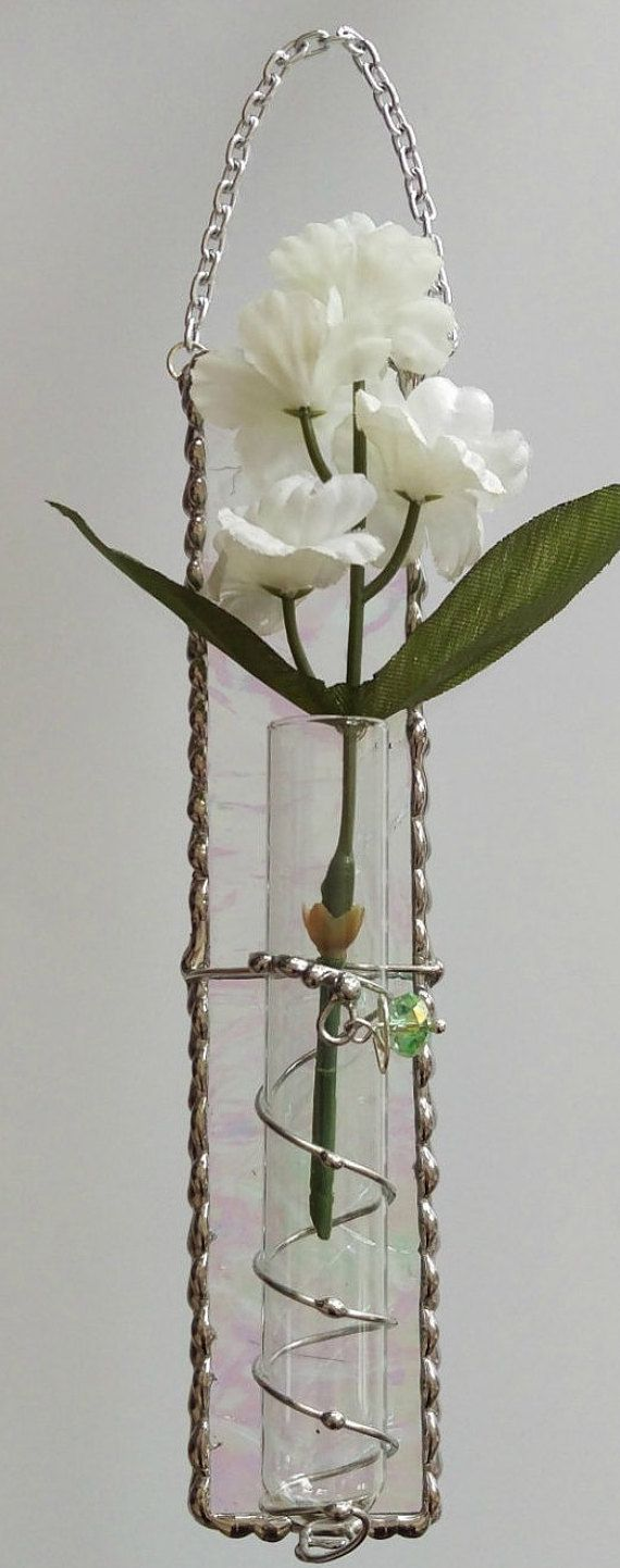 192 best air plantbud vasetube rooter images on pinterest stained glass hanging bud vase test tube vase reviewsmspy