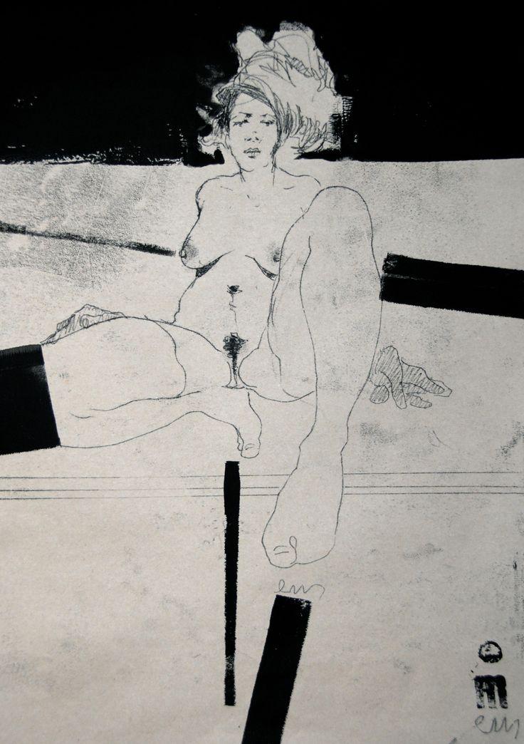 NUDE No. 3242 60 x 40 cm