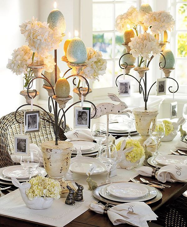 25 Easter Holiday Ideas for Table Decoration (Messagenote.com)